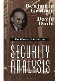 Security Analysis – Graham & Dodd
